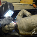 Leslieville News: Greenwood Park Jeffrey Baldwin Statue