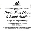 Leslieville News: Applegrove Pasta Fest Dinner and Silent Auction Fundraiser